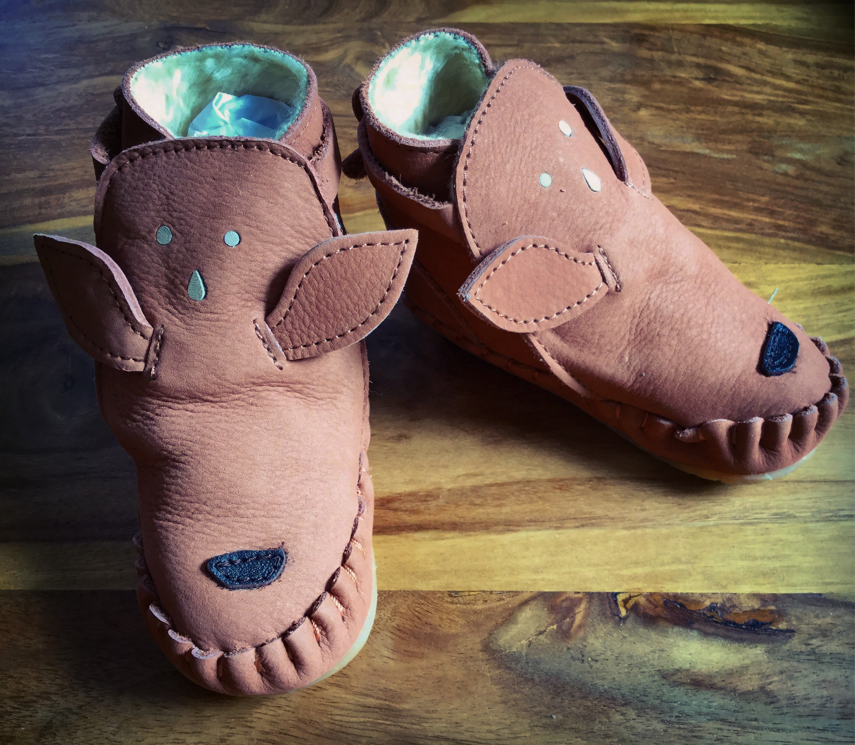 Donsje Amsterdam Leather Shoes and Accessories for Children