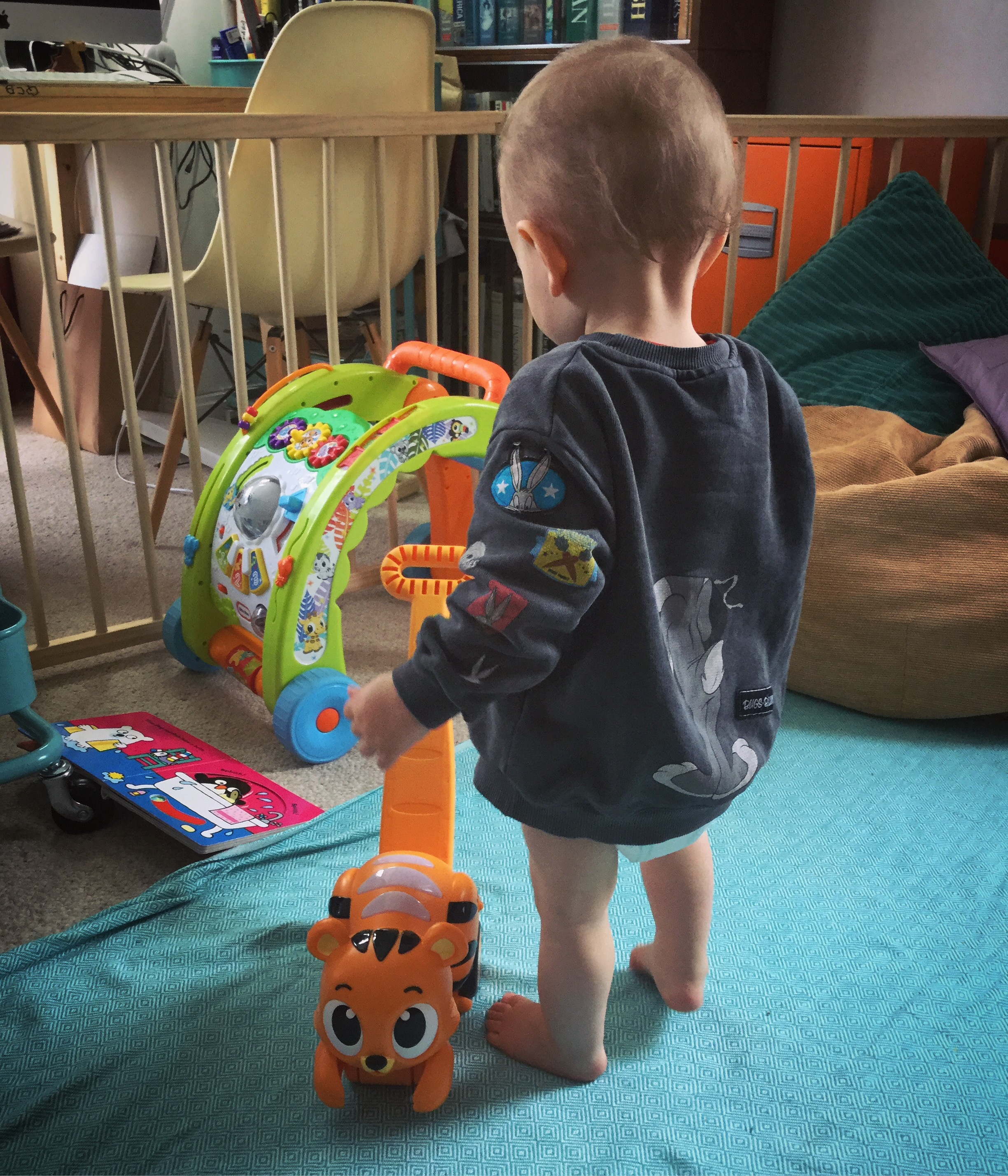 These toys are made for walkin'! Little Tikes LIght 'n Go Toys. Luther from Frankie and the Lamb reviews the 3-in-1 Walker and Catchin' Lights Tiger 🐯