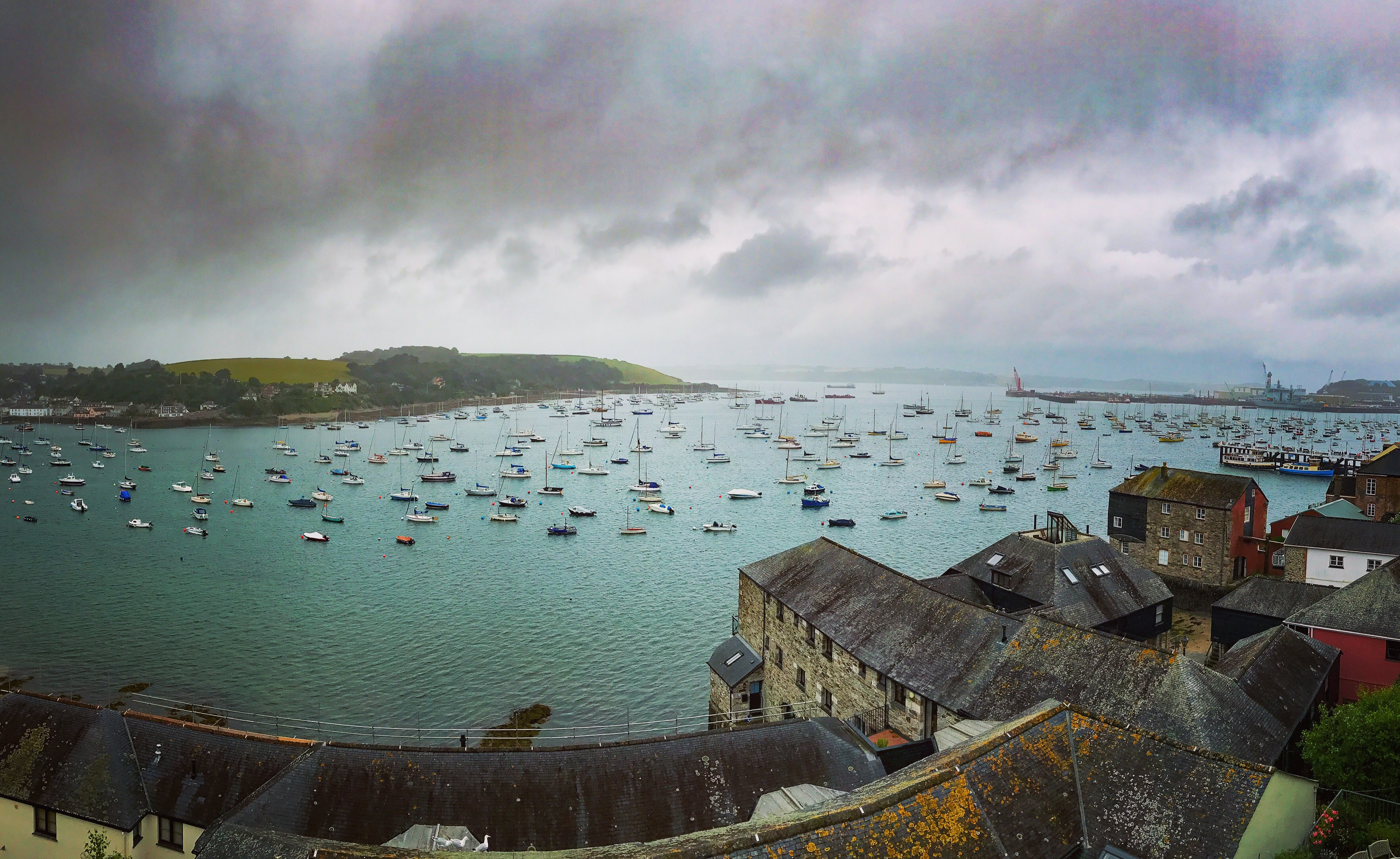 The Star and Garter Falmouth is an award-winning pub with The Penthouse Air BnB above it with views over Falmouth harbour