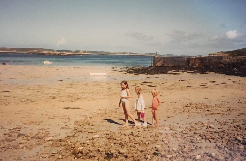 Family holiday on The Isles of Scilly - Tresco trip with Frankie & the Lamb and The Papa Gorilla plus toddler.